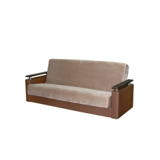"""Диван-кровать """"Лира 3"""" коричневый"""