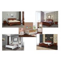 Кровати с ящиками из массива