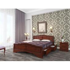 """Кровать """"Карина-6"""" Орех, с ящиками"""