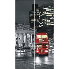 """Шкаф-купе """"Леон-2 Лондон"""" 1200"""