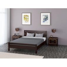 """Кровать """"Вероника-1"""" орех тёмный"""